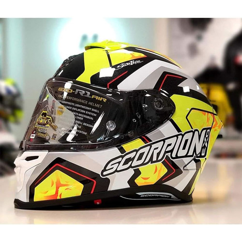 Scorpion EXO-R1 Air Limited Edition Bautista Helmet R1-3015