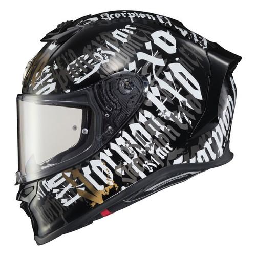 Scorpion EXO-R1 Air BlackLetter Helmet R1-2015