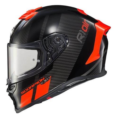 Scorpion EXO-R1 Air NEON RED CORPUS Helmet R1-1025