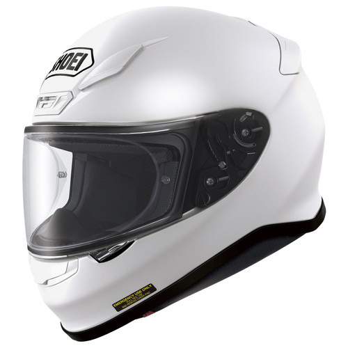 Shoei RF-1200 Helmet Solid WHITE ALL SIZES 0109-0109