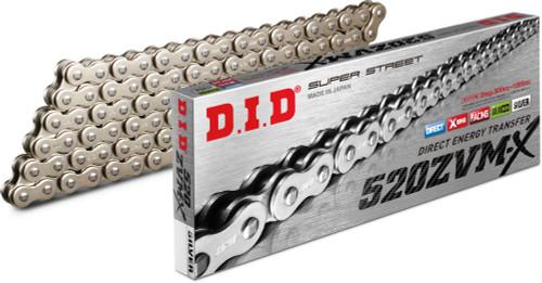 D.I.D DID  520ZVM-X Super Street Series Chain 520 x 120, NICKEL 520ZVM-XN