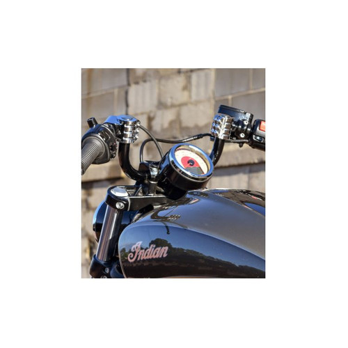 KLOCK WERKS KW05-01-0343 BLACK 10 INCH Kliphanger Handlebars Scout 2015-2020
