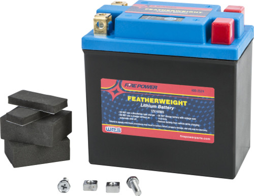 FIRE POWER FEATHERWEIGHT LITHIUM BATTERY 250CCA HJTX14AH-FP 12V/48WH