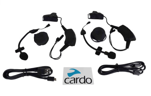 Cardo PackTalk SLIM JBL DUO DUAL 2 BLUETOOTH HEADSETS PTS00101