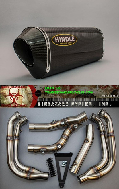 HINDLE RACE CARBON FULL EXHAUST SYSTEM S1000RR 2020 75-07571