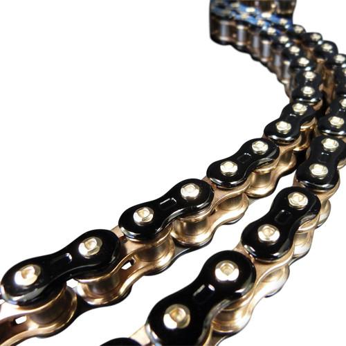 EK 3D 525 Z Chain 120 LINKS BLACK / GOLD 525Z3D-120KG