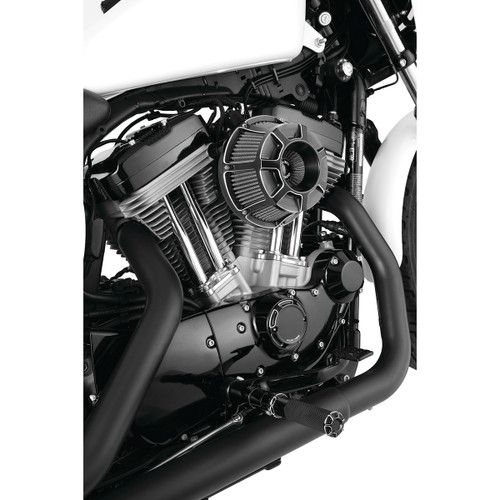 ARLEN NESS 18-919 Black Inverted  SUCKER Air Cleaner Kit