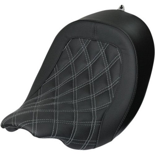 DANNY GRAY Speed cradle Double Diamond Stitch Solo Seat 21-414DIA