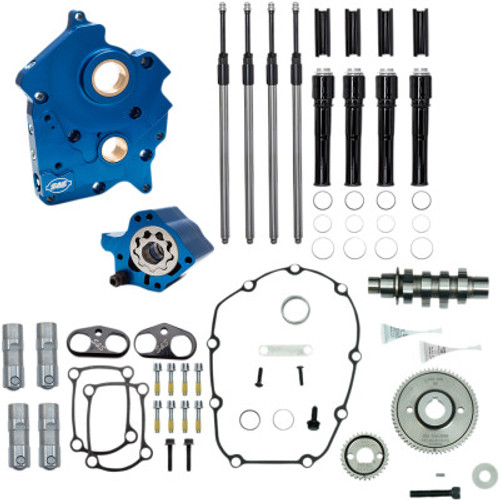 S&S 310-1010A  Gear Drive 475G Cam Chest Kit black water cooled m8 17-20