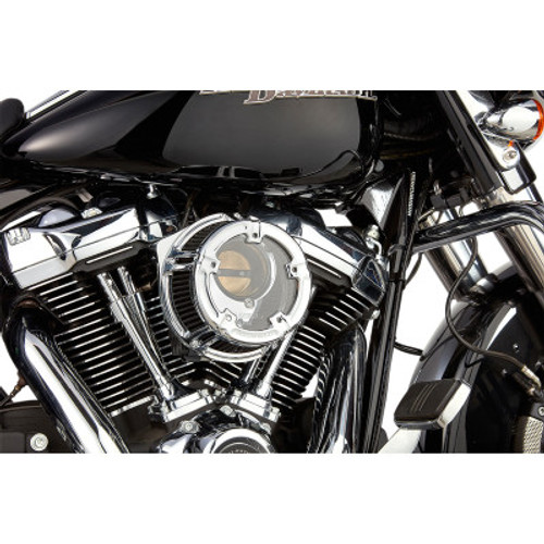 ARLEN NESS 18-970 Chrome Method Clear Series Air Cleaner Kit FL 17-20