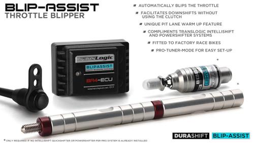 TRANSLOGIC  Quickshifter System MT09 FZ09 14-20 TLS-QSX-I-DCS & BLIP ASSIST