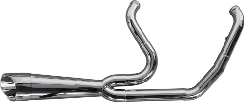TWO BROS 005-5120199-PSG COMP-S 2 INTO 1 POLISHED STAINLESS FULL EXHAUST M8 SOFTAIL 18-20