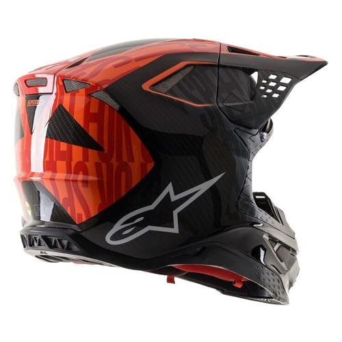 ALPINESTARS SUPERTECH M10 ALLOY HELMET RED BLACK ALL SIZES 8301720-1403