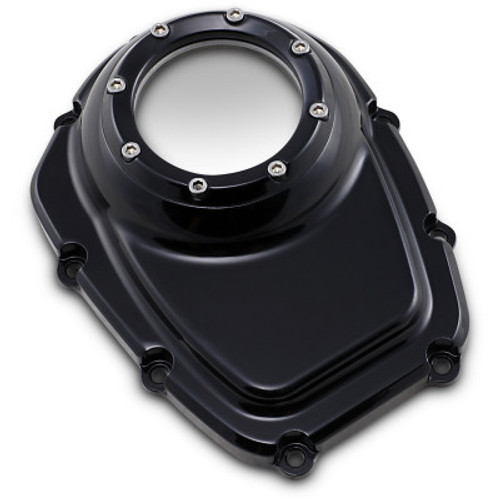 TRASK TM-018R BLACK Assault Series Cam Cover w/ Window M8 17-20