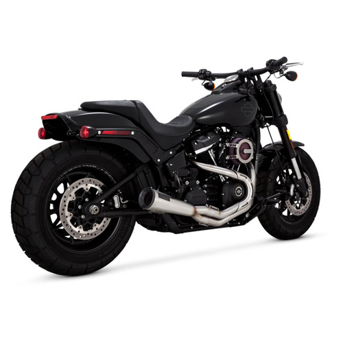 VANCE & HINES 27623 Stainless 2-Into-1 Upsweep EXHAUST SOFTAIL 18-20