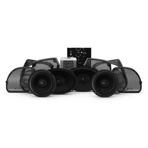 ROCKFORD FOSGATE HD14U-STAGE3 6 Speaker & Amp KIT ROAD & ELECTRA GLIDE ULTRA 14-21