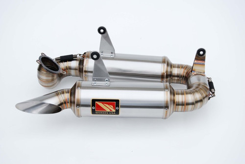 COMPETITION COMP WERKES WD1199-S GP SLIP ON EXHAUST SYSTEM  HAND BUILT STAINLESS STEEL MUFFLER  DUCATI 1199 Panigale, 1199 Panigale S, 1199 Panigale S Tricolore 12 13 14 15 2014 2015 2012 2013