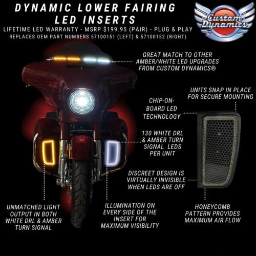 CD CD-LF-AW-B LOWER FAIRING LED INSERTS FL 14-21