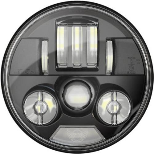 LED BLACK PROBEAM & HEADLIGHT CHALLENGER & CHIEF W HARNESS
