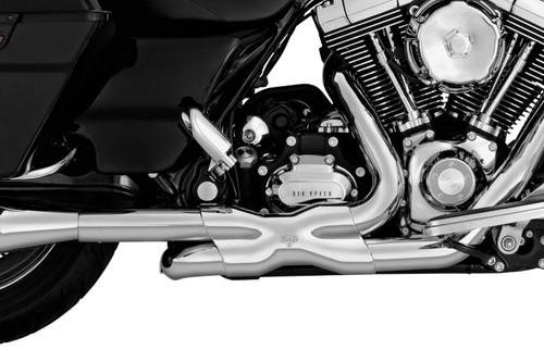 VANCE & HINES 16832 CHROME Power Duals Headers X PIPE TOURING 09-16