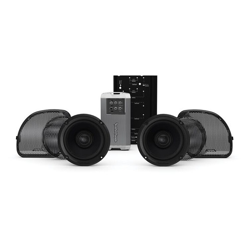 ROCKFORD FOSGATE HD14RGSG-STAGE2 AUDIO KIT Stage 2 For Harley Road Glide / Street Glide 2014-2021