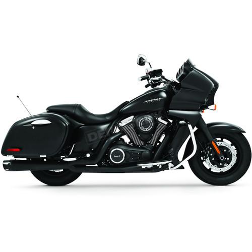FREEDOM PERFORMANCE MK00007 BLACK COMBAT 2 INTO 1 EXHAUST NOMAD VAQUERO 09-20