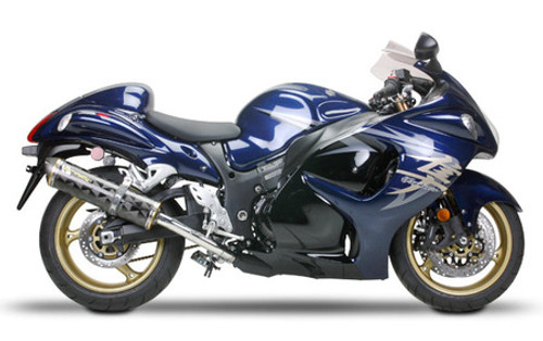 TWO BROTHERS 005-1930407DM DUAL CARBON CF SO EXHAUST HAYABUSA GSX1300R 08-12