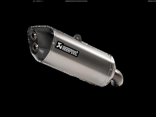 AKRAPOVIC S-S10SO16-HAFT TITANIUM SLIP-ON EXHAUST VSTROM 14-21