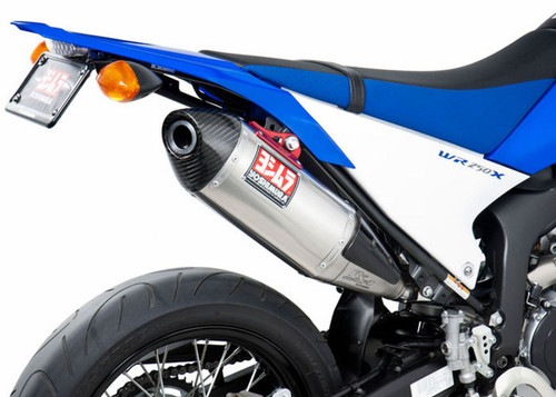 YOSHIMURA 133002D520 SLIP ON SO EXHAUST SYSTEM RS-4 RS4 ALUMINUM AL MUFFLER W CARBON CF END CAP STAINLESS STEEL SS LINK / MID PIPE  YAMAHA WR250X WR250R WR 250X 250R 08 09 10 11 12 13 14 15 2008 2009 2010 2011 2012 2013 2014 2015