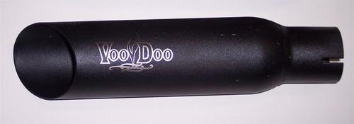 VOODOO VEZX636K3B  BLACK GP SIDE EXHAUST EXHAUST ZX6 ZX636 03-04