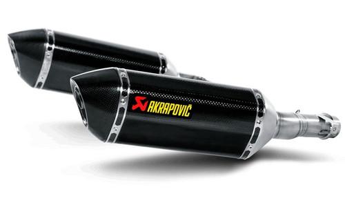 AKRAPOVIC S-K10SO10-HZC SLIP-ON DUAL CARBON EXHAUST NINJA 1000 Z1000