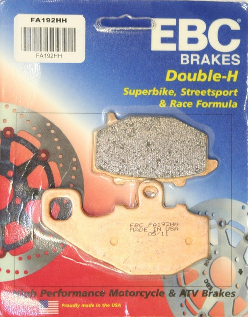 EBC HH BRAKE PADS FA192HH REAR SET