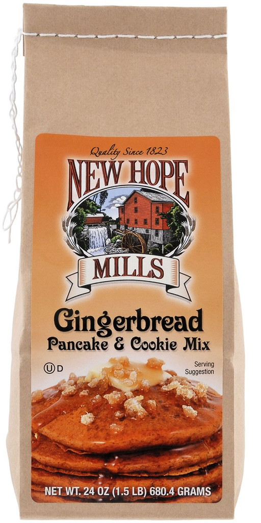 Gingerbread Pancake & Cookie Mix