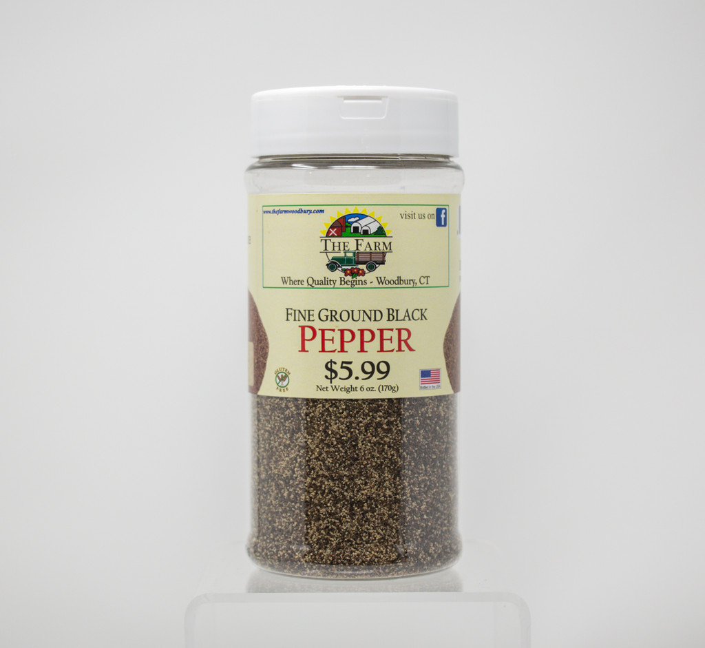 Pepper - Black Pepper - Fine Ground