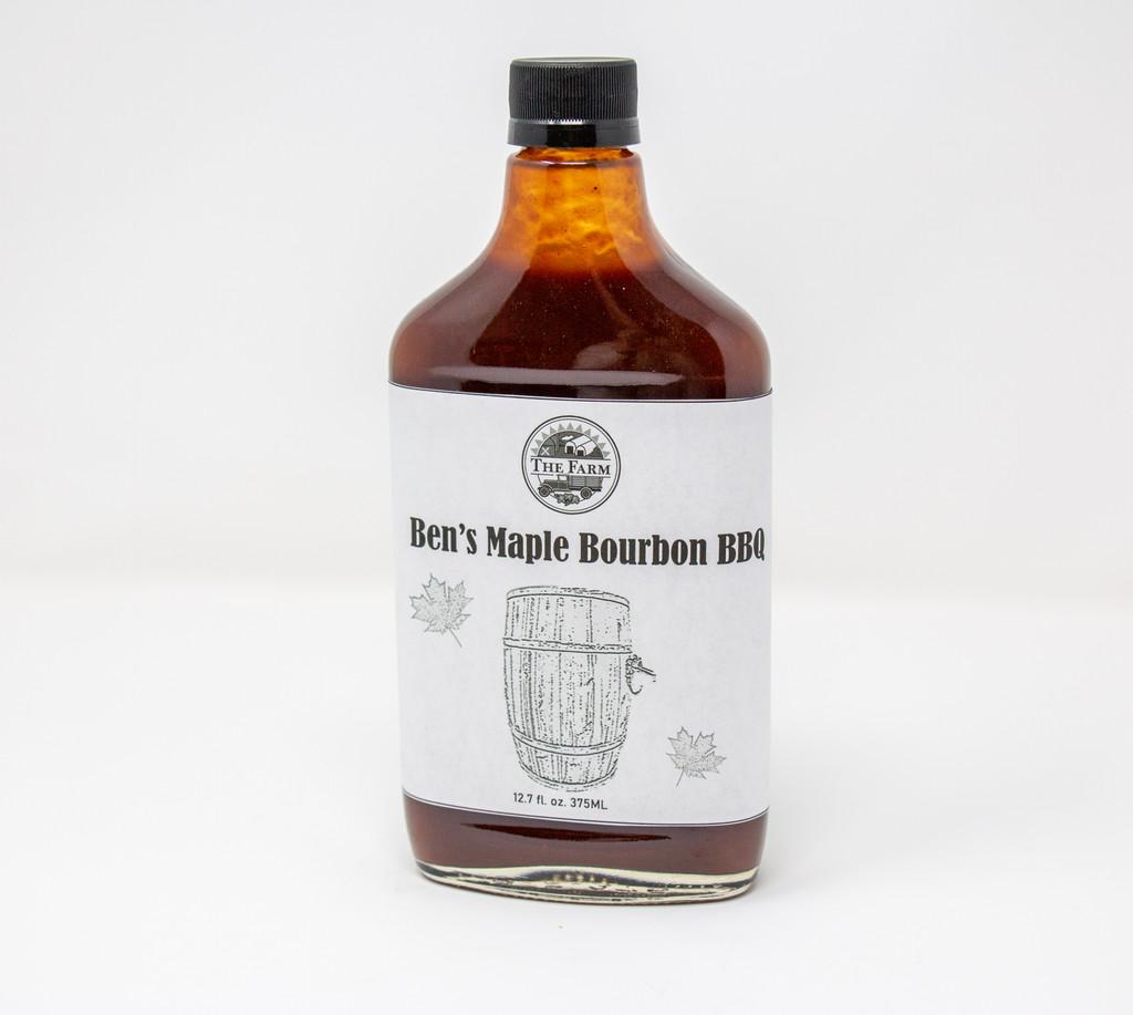 Ben's Maple Bourbon BBQ Sauce