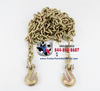 "5/16"" x 20' Binder Chain Assembly w/ 2 GR70 Hooks"
