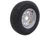 """ST225/75R15 10-Ply Contender Radial Tire on 15""""x6"""" Silver Mod Wheel 5x5.5"""""""