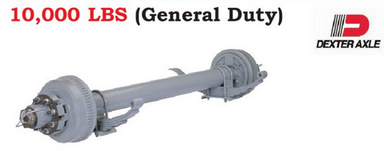 Dexter 10K General Duty Trailer Axle
