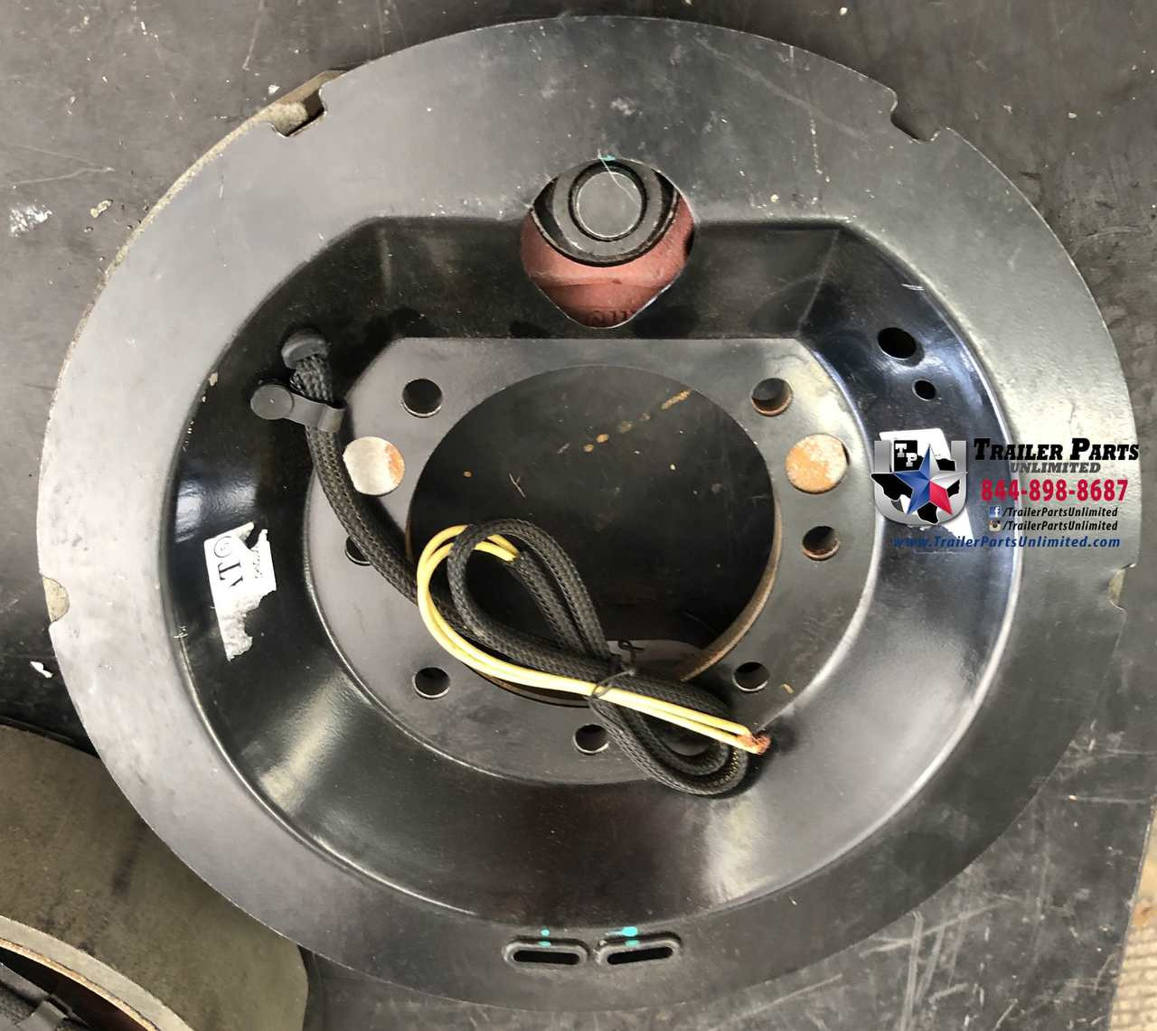 "9K-10K electric self-adjust brake assembly Right Hand (Passenger Side) 12-1/4"" X 3-3/8"" for Dexter Axles"