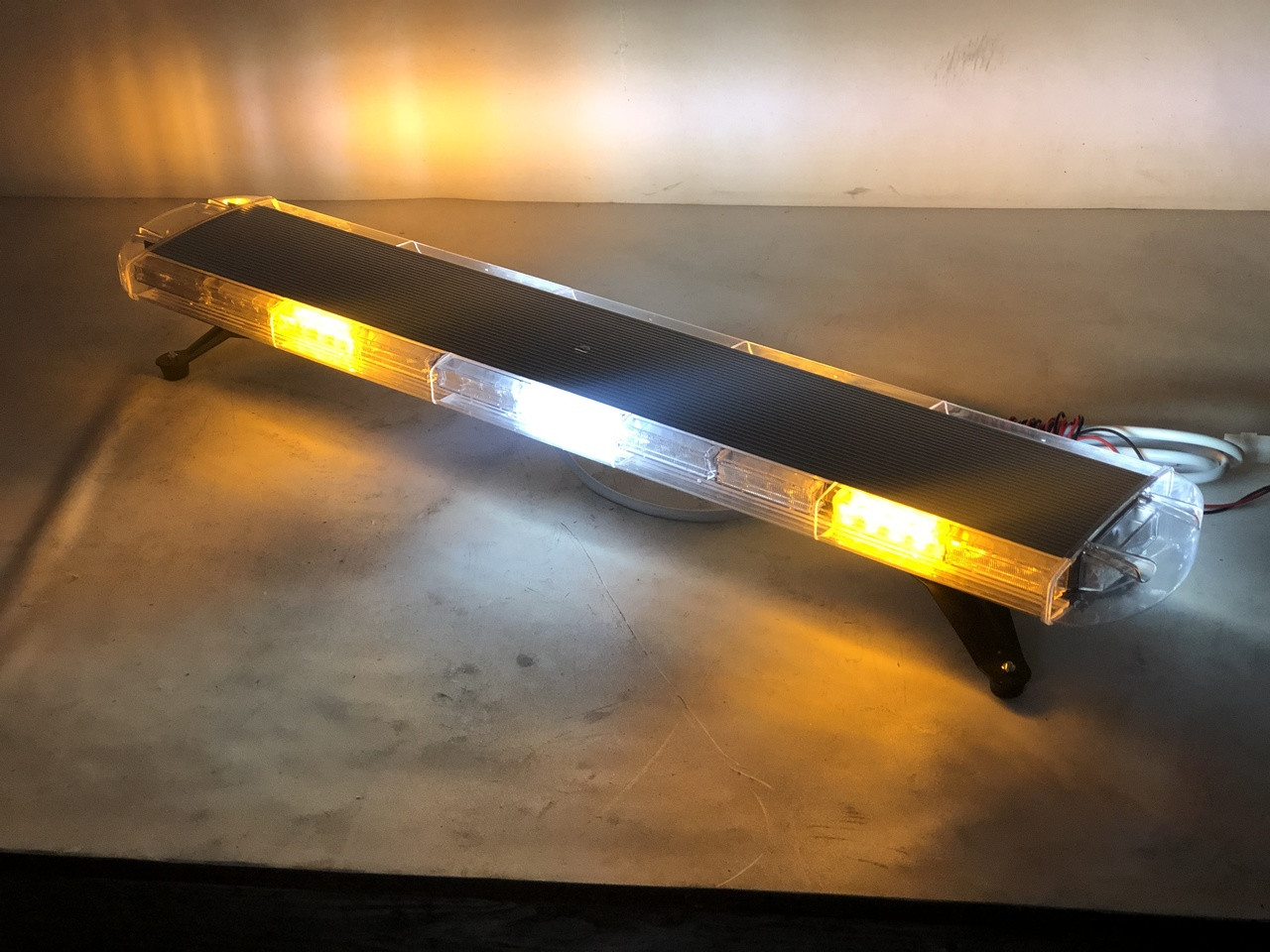 Led Strobe Lights For Trucks >> 33 Long Emergency Strobe Truck Led Light Bar Yellow White Flashing