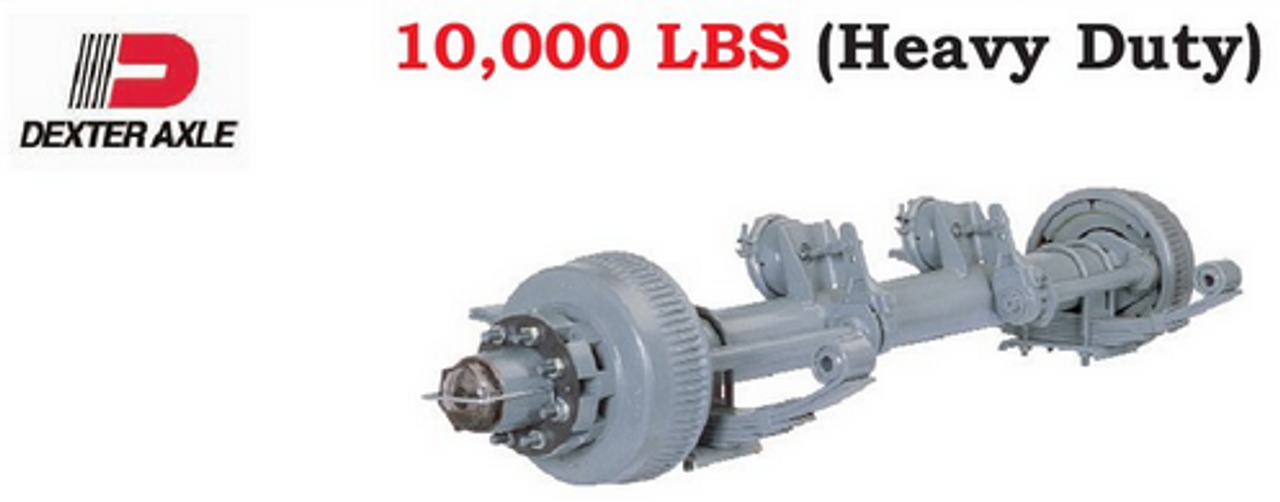 Dexter Heavy Duty 10K Axle