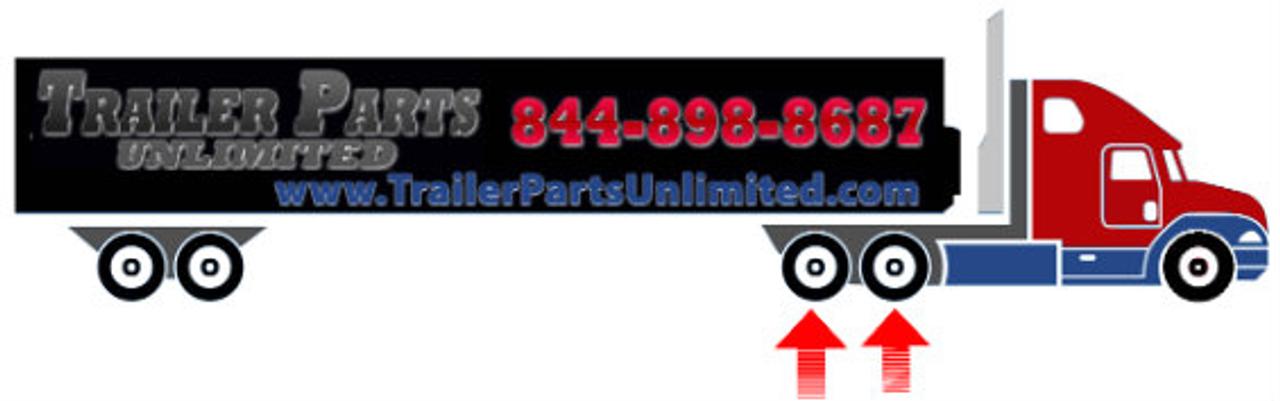 295/75R22.5 14-ply Grenlander GR622 Closed Shoulder Drive Tire