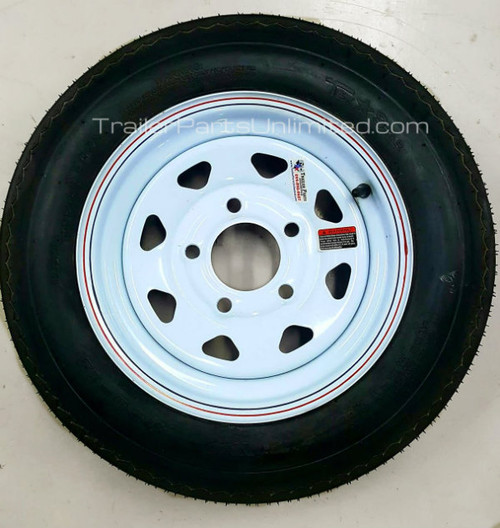 4.80x12 boat tire and wheel