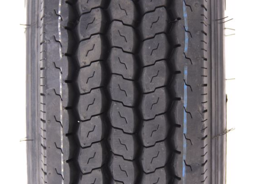 215/75R17.5 16 PLY PROVIDER ALL STEEL TIRE ON SUPER SINGLE WHEEL