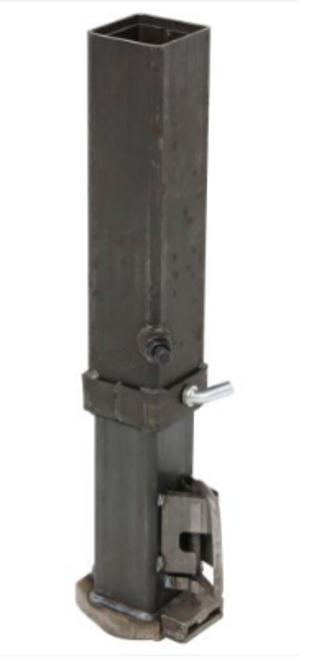 "GCSQ-25008,  Square Adjustable Gooseneck Coupler 25k Cap. 2-5/16"" Ball"