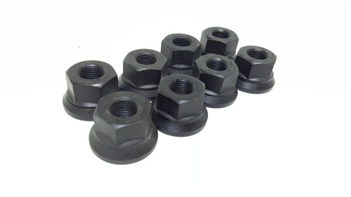 ".625""-18, swivel flange nut. Rockwell two piece swivel flange nut with 5/8""-18 thread for hub piloted wheels, single or double. Sold as each."