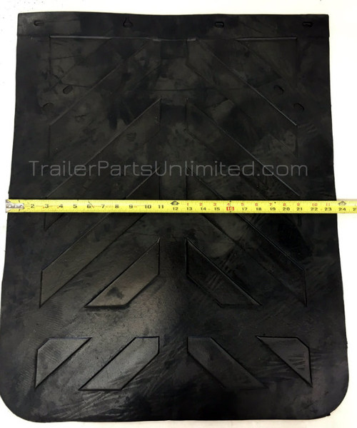 "24"" x 30"" thick mud flap"
