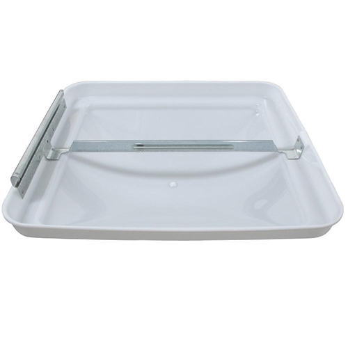 "Dome, Vent  replacement, white 14"" x 14"". mpn# BV0554-01"