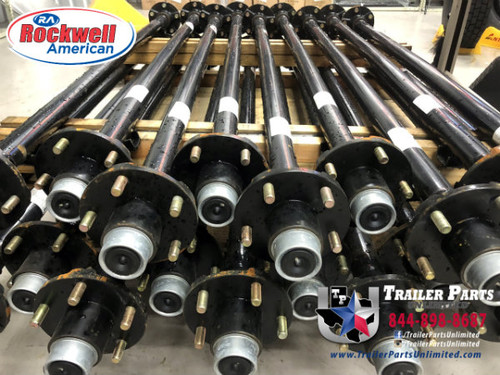 "2k Rockwell 59""/47"" Idler Axle 5x4.5"" No Camber Posi-Lube Grease"
