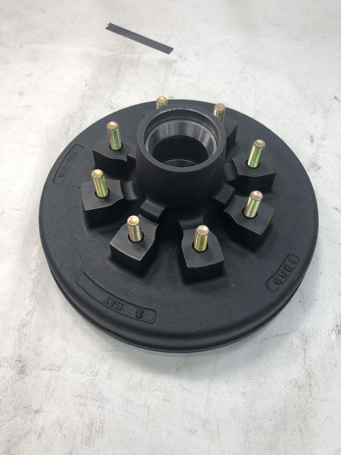 6k - 7k hub and drum for 6000 and 7000 lb trailer axles